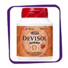 Devisol Berry D3 20 mikrog (Девисол Берри D3 20 мкг) жевательные таблетки - 200 шт