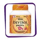 Девисол Фрути D3 10 мкг (Devisol Fruity D3 10 Mkg) жевательные таблетки - 200 шт