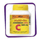 Multivita Ascorbin Long 500 Mg (Мультивита - Аскорбин Лонг 500 мг) таблетки - 100 шт