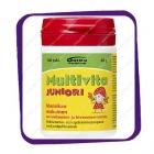 Multivita Juniori Mansikan (Мультивита Юниор вкус клубника - мультивитамины) жевательные таблетки - 100 шт