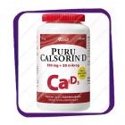 Puru Calsorin D3 500 mg +20mkg Ca+D3 (Пуру Калсорин Д 500 мг + 20 мкг) таблетки - 100 шт