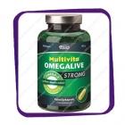 Multivita Omegalive Strong Omega-3 (Рыбий жир Омега-3 - усиленный) капсулы - 100 шт