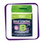 Beko Strong B12 1 Mg Foolihappo B6 (Беко Стронг B12 1 мг +B6 + фолиевая кислота) таблетки - 100 шт