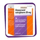 Omeprazol Ratiopharm 20 Mg (Омепразол-Ратиофарм 20 мг) капсулы - 14 шт