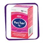 Para-Tabs 1g (Пара-Табс 1 г - жаропонижающий препарат) таблетки - 15 шт