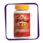 Sana-sol Vitanallet D-vitamiini 10 mg Mansikka-Vadelma (Мишик Сана-сол +D3) пастилки - 60 шт