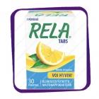 Rela Tabs Mieto Sitruuna (лактобактерии - вкус лимона) жевательные таблетки - 30 шт