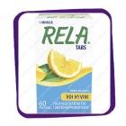 Рела Табс сочный лимон (Rela Tabs Mieto Sitruuna) жевательные таблетки - 60 шт