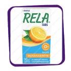 Rela Tabs D3 Appelsiini (Рела Табс - кисломолочные бактери + D3) жевательные таблетки - 90 шт