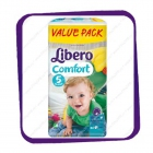 Подгузники Либеро Комфорт (Libero Comfort) 5 10-14kg Value Pack 64kpl