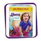 Подгузники Либеро Комфорт (Libero Comfort) 6 13-20kg Big Mega Pack 92kpl