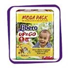 Подгузники Либеро Ап Энд Гоу (Libero Up&Go) 4 7-11kg Mega Pack 62 kpl