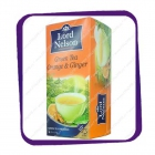 Lord Nelson - Green Tea - Orange & Ginger 25tb