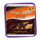 Maitre Truffout - Orange Truffles 200g - тёмный шоколад с апельсиновой начинкой