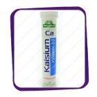 Megavit - Kalsium + Vitamin D3 - 20 tabs (Шипучие витамины)