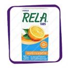 Rela Tabs Appelsiini – таблетки  с лактобактериями и D3, апельсин - 90 шт.