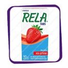 Rela Tabs Mansikka – таблетки  с лактобактериями, аромат клубника - 90 шт.