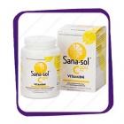 Sana-sol C-Vitamiini - 200mg - 100tabs